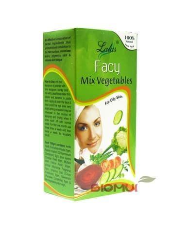 Овощная маска для жирной кожи