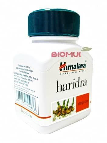 Харидра Haridra (Curcuma longa) HimalayaПищевые и витаминные добавки<br>Противоаллергическое средство. Эффективно очищает кровь. а так же имеет противовоспалительное и заживляющее действие.<br>