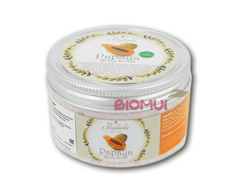 """Органический скраб для тела с папайей """"Praileela"""" от BioMui"""