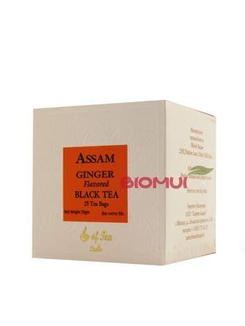 """Натуральный черный чай с имбирем """"Assam Ginger"""" от BioMui"""