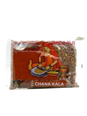 Чана Кала (коричневый сушеный нут, Chana Kala, Cicer arietinum)Бакалея<br>Коричневый нут - темные семена в грубой оболочке, отличающиеся высоким белковым содержанием. Он особенно хорошо подходит людям типа Питта.<br>