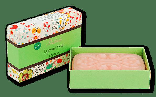 Органическое мыло с личи