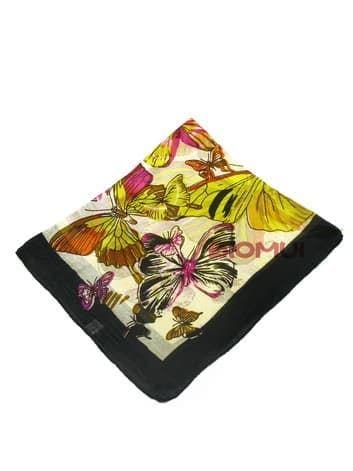 Шелковый шарф мини-бабочки (черный)Платки<br><br>