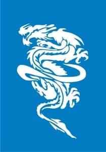Самоклеющийся трафарет DracoТрафарет для менди<br><br>