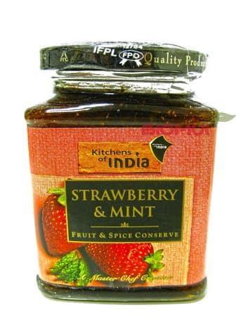 Натуральный джем с клубникой и мятой Kitchens of IndiaВосточные сладости<br><br>