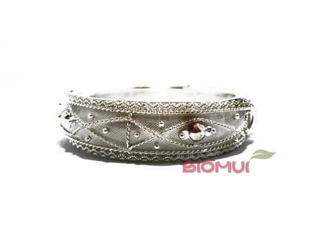 Индийский браслет (серебряный)