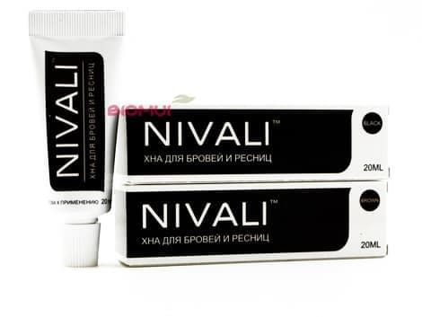 "Хна для бровей и ресниц  ""Nivali"" от BioMui"