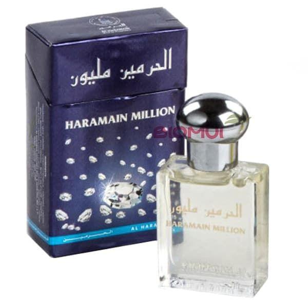 Масляные духи Million Al-HaramainДухи масс маркет<br>Сочный, теплый, ненавязчивый фруктово-цитрусовый аромат с выраженной цветочной сердечной нотой.<br>