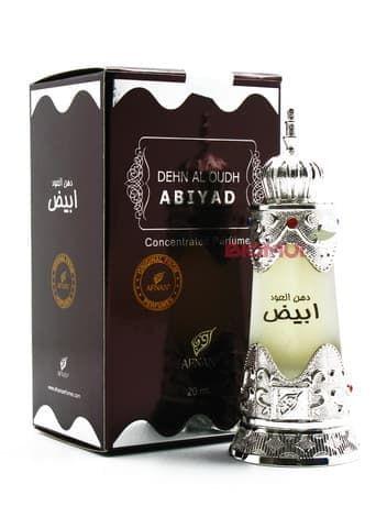 Масляные духи Dehn Al Oud AbiyadЭксклюзивные духи<br>Ненавязчивый и изысканный аромат. В нем есть и нежность мускуса, и древесная терпкость, и сладко-сочная цитрусовая изюминка.<br>