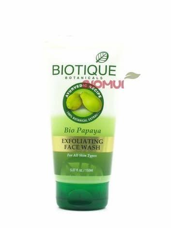 """Натуральный мыльный гель-скраб с папайей """"Biotique"""" от BioMui"""