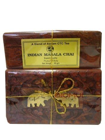 """Натуральный индийский черный чай """"Масала"""""""