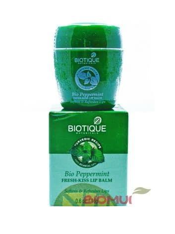 """Освежающий бальзам для губ с перечной мятой """"Biotique"""" от BioMui"""