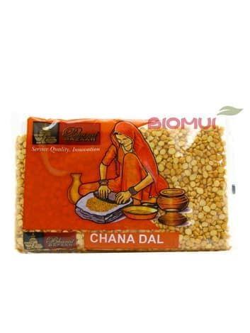Чана дал (Чана Дхал, бенгальский горох, Chana Dal)Бакалея<br>Бенгальский горошек - разновидность нута (чана дхал), которая весьма хороша для тех, кто страдает от проблем сахара в крови. Она отличается более мелкой формой и темной оболочкой.<br>