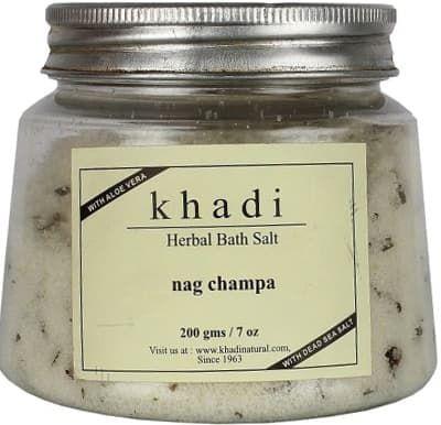 Травяная соль для ванны с чампакой