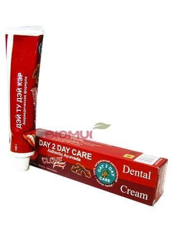 """Натуральная растительная зубная паста с гвоздикой """"Day 2 Day Care"""" от BioMui"""