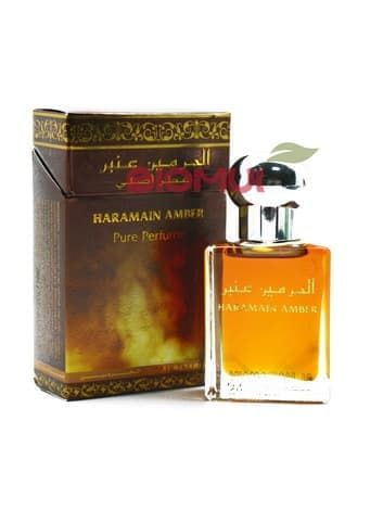 Масляные духи Amber Al-HaramainДухи масс маркет<br>Аромат духов Amber чувственный с выраженным янтарным теплом.<br>