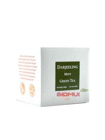 Натуральный крупнолистовой зеленый чай с мятой DarjeelingНатуральный чай<br><br>