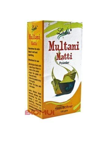 Лечебная глина Multani Matti для проблемной и жирной кожи