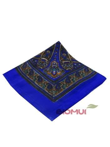 Шелковый платок (ярко синий)Платки<br><br>