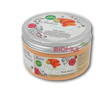 Крем-масло для тела с папайей PraileelaКрем<br>Данное средство обладает нежной и очень питательной консистенцией, а так же приятным фруктовым ароматом. Крем великолепно смягчает и полностью увлажняет кожу, преображая даже загрубевшие или очень сухие участки тела.<br>