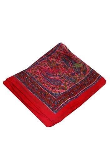 Шелковый платок (темно-красный)Платки<br><br>