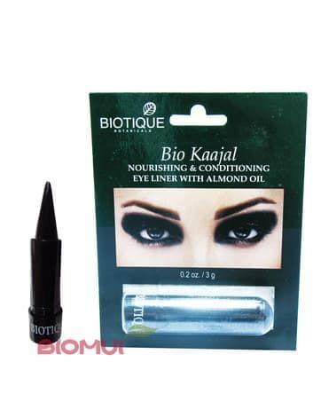 Натуральный каджал для глаз BiotiqueСурьма для глаз<br>Данный каджал создан на основе целебных аюрведических трав и чистых растительных масел. Обладает прекрасным лечебно-терапевтическим действием.<br>