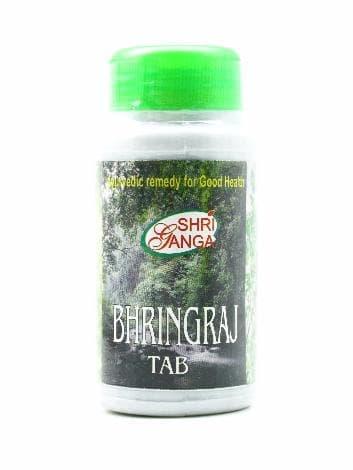Брингарадж (Bhringraj) Shri GangaПищевые и витаминные добавки<br>Брингарадж является натуральным оздоравливающим тоником для печени, а также суперэффективным средством против выпадения волос.<br>