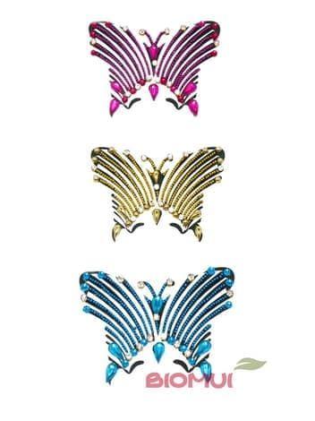 Бинди для тела (тату из страз) MothБинди<br>Цвета в ассортименте.<br>