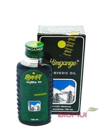 Аюрведическое массажное масло HimgangeМассажное масло<br>Данный продукт снимает различные виды боли, оказывая выраженное обезболивающее, укрепляющее и стимулирующее действие<br>