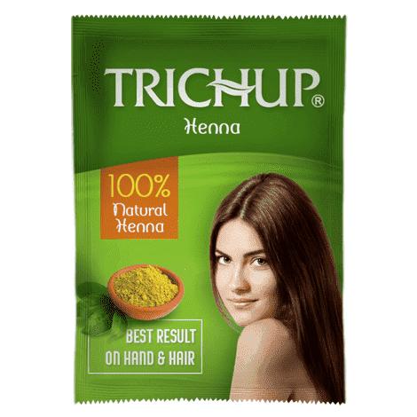 """Натуральная индийская хна """"Trichup Vasu"""" (рыжая) от BioMui"""
