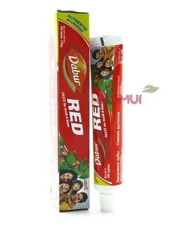 Аюрведическая зубная паста Dabur Red